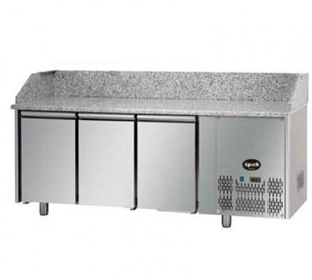 Холодильный стол для пиццы Apach PZ03 EKO GN - 17746